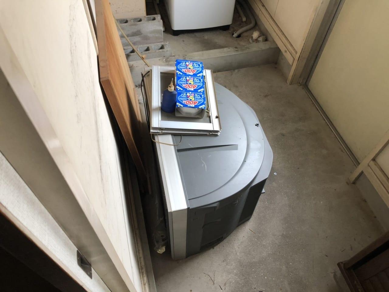 千葉県柏市周辺不用品回収前画像