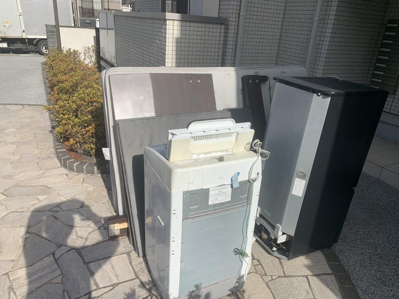 岐阜県岐阜市周辺不用品回収前画像