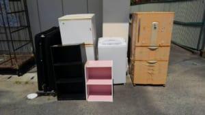 奈良県大和郡山市周辺不用品回収前画像