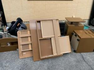 奈良県生駒市周辺不用品回収前画像