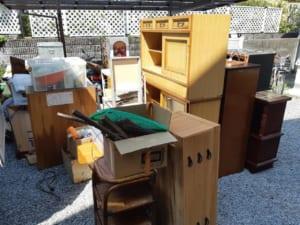 兵庫県尼崎市不用品回収前画像