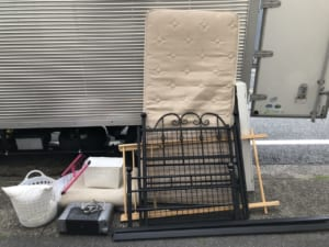 愛知県名古屋市中川区不用品回収前画像