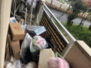 兵庫県姫路市不用品回収前画像