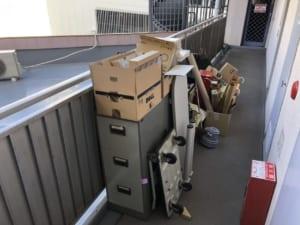 兵庫県明石市不用品回収前画像