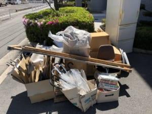 大阪府八尾市不用品回収前画像