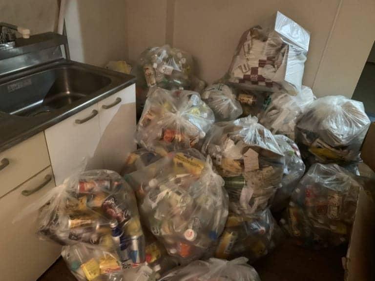千葉県千葉市中央区不用品回収前画像