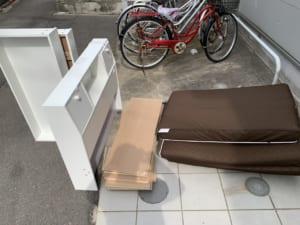 神奈川県平塚市周辺不用品回収前画像