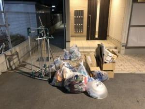大阪府豊中市不用品回収前画像