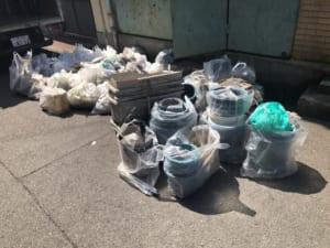 大阪府八尾市周辺不用品回収前画像