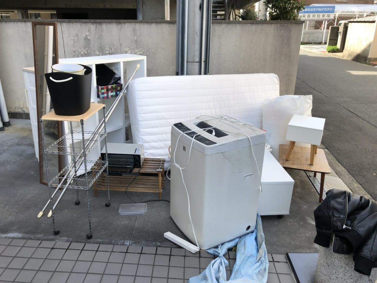 岐阜県多治見市周辺のS様不用品回収前画像