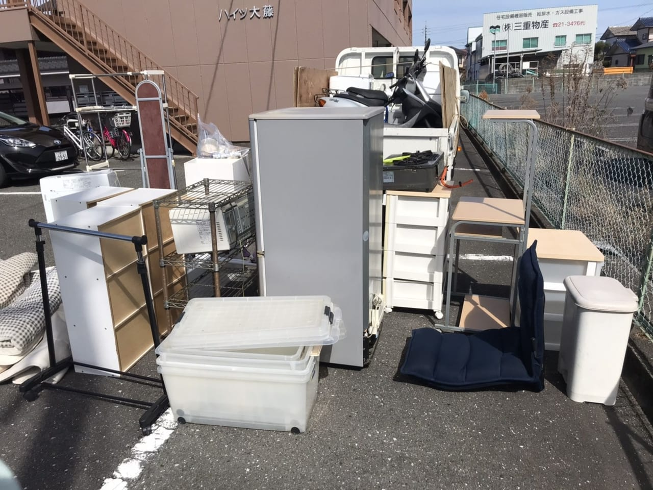 香川県高松市周辺のS様不用品回収前画像