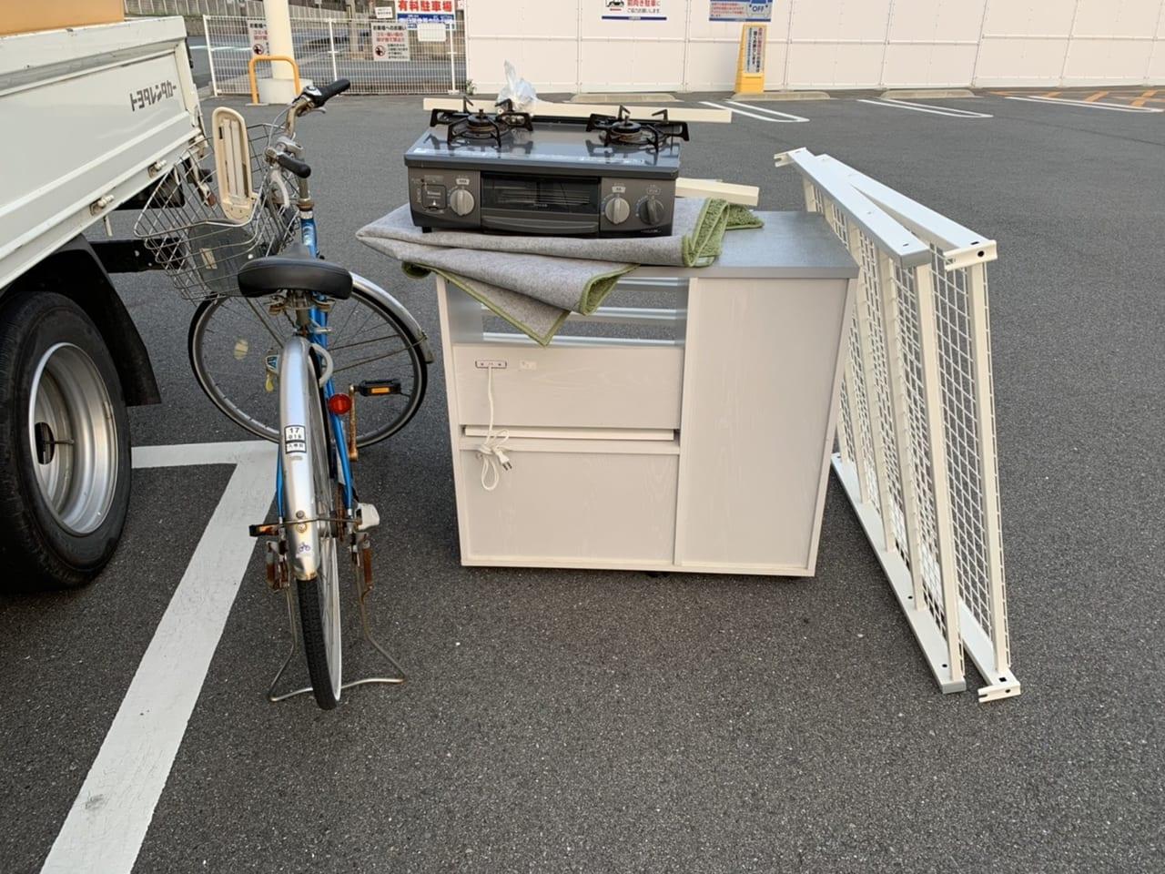 兵庫県神戸市東灘区周辺のE様不用品回収前画像