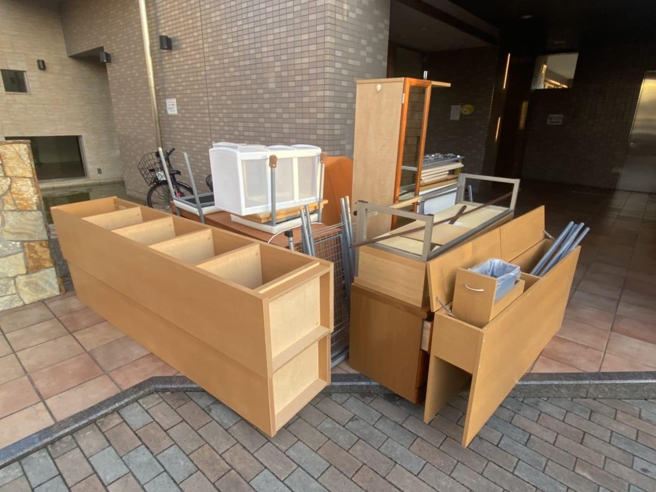 岡山県瀬戸内市周辺のN様不用品回収前画像