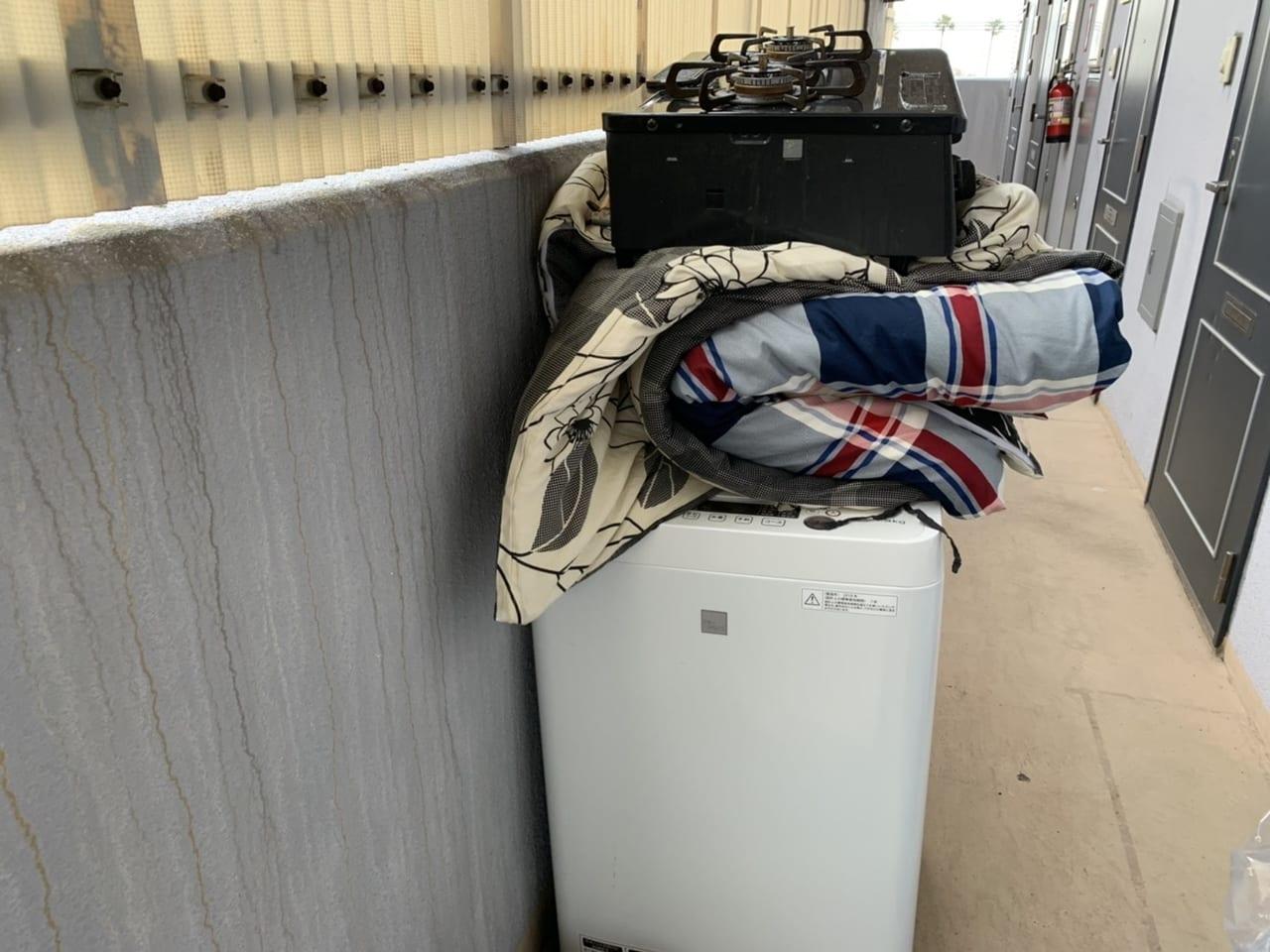 岡山県瀬戸内市周辺のS様不用品回収前画像