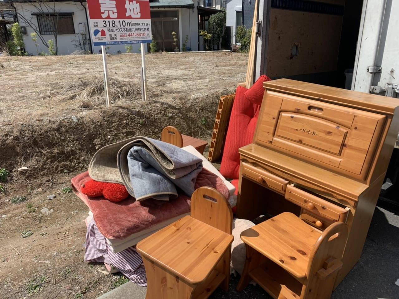 徳島県徳島市周辺のA様不用品回収前画像