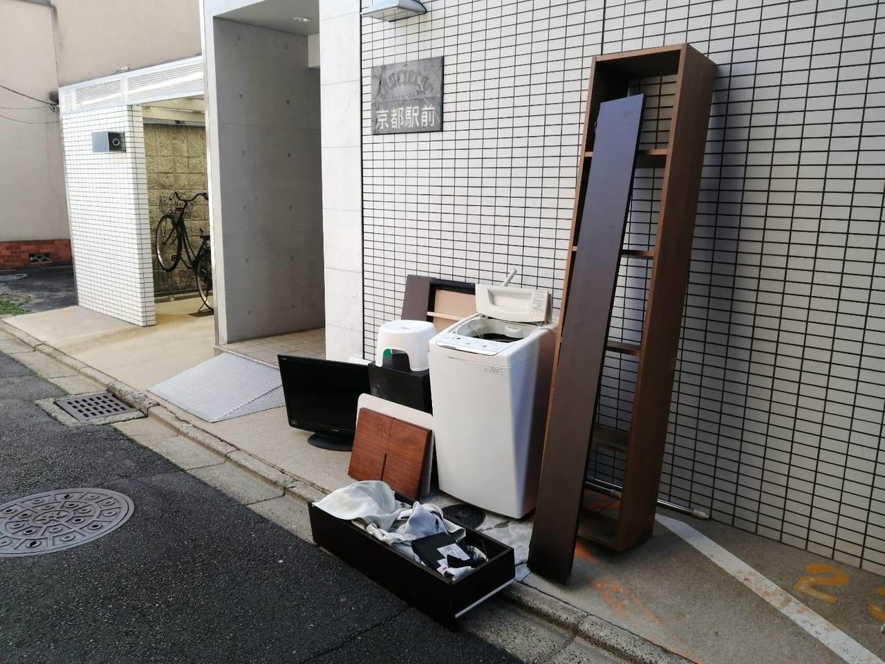 徳島県徳島市周辺のM様不用品回収前画像