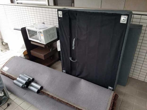 山口県熊毛郡上関町周辺不用品回収前画像