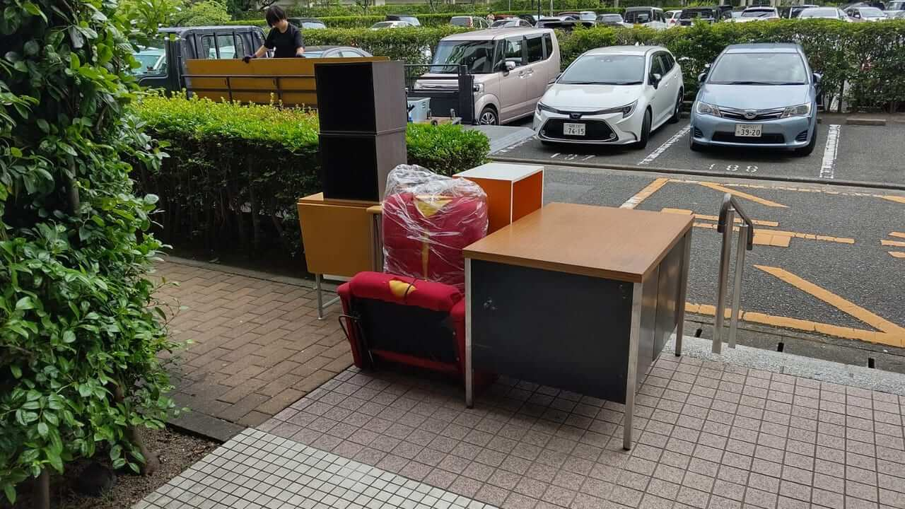 福岡県福岡市早良区不用品回収前画像