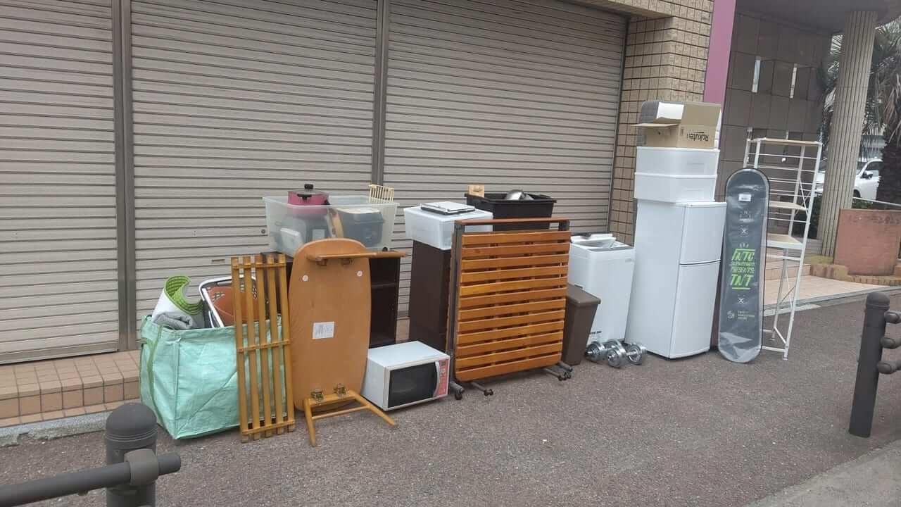 福岡県福岡市早良区周辺不用品回収前画像