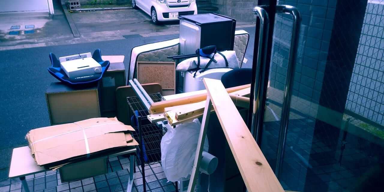 鹿児島県鹿児島市周辺不用品回収前画像