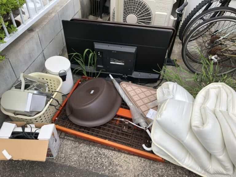 愛知県東海市周辺不用品回収前画像