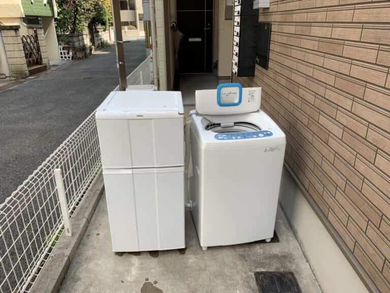 東京都荒川区周辺不用品回収前画像