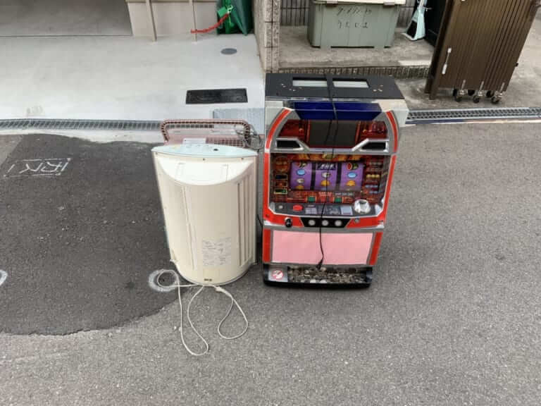 東京都練馬区周辺不用品回収前画像