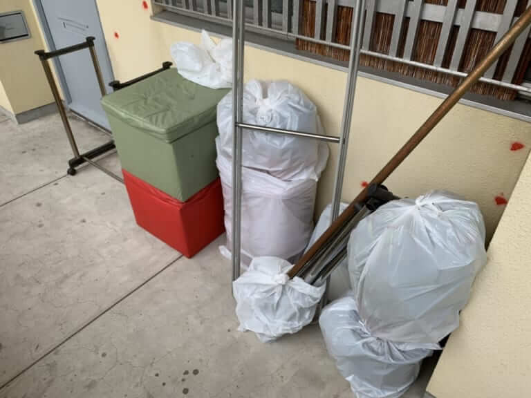 東京都港区周辺不用品回収前画像