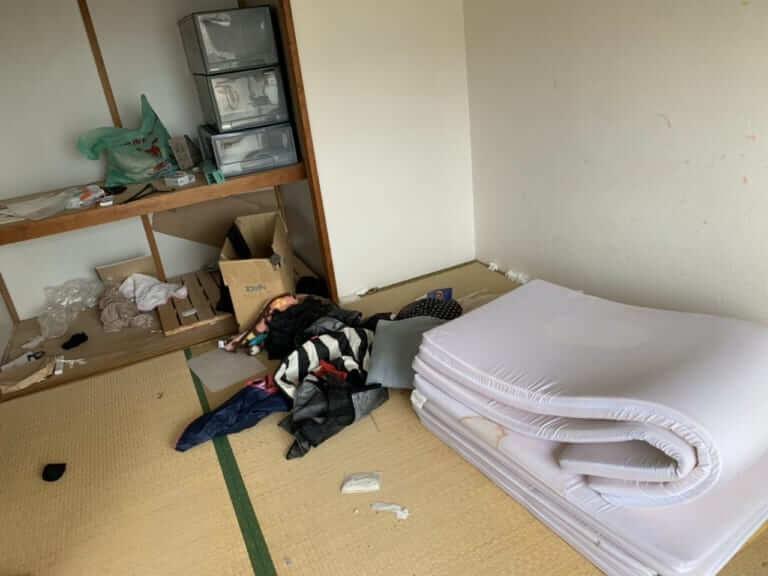 千葉県市原市不用品回収前画像