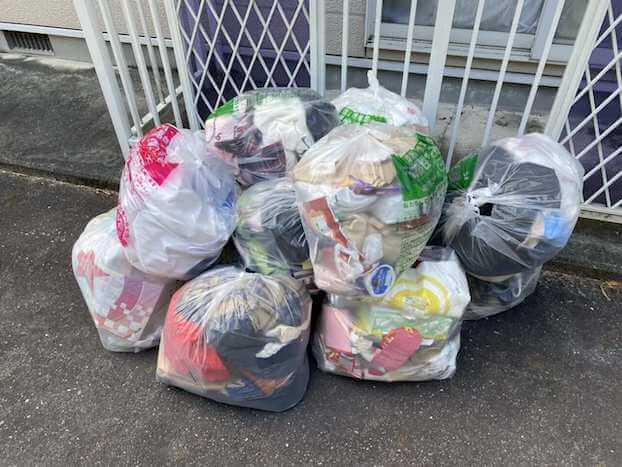 山口県岩国市不用品回収前画像