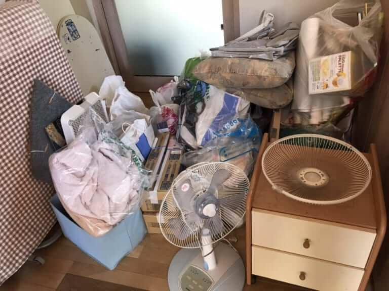 神奈川県藤沢市周辺不用品回収前画像