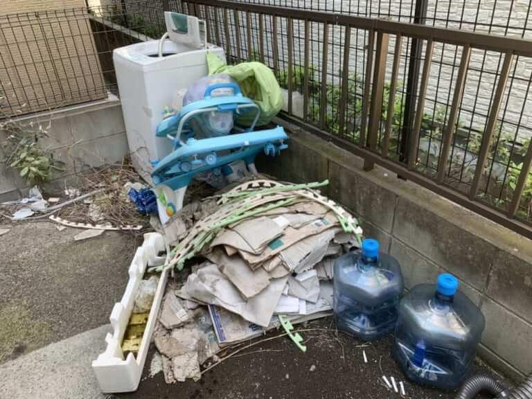 神奈川県伊勢原市周辺不用品回収前画像