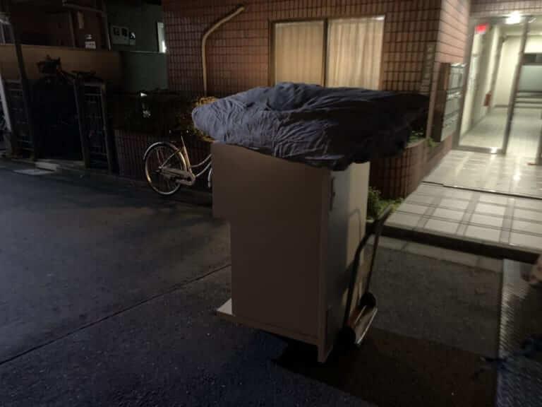 東京都荒川区不用品回収前画像
