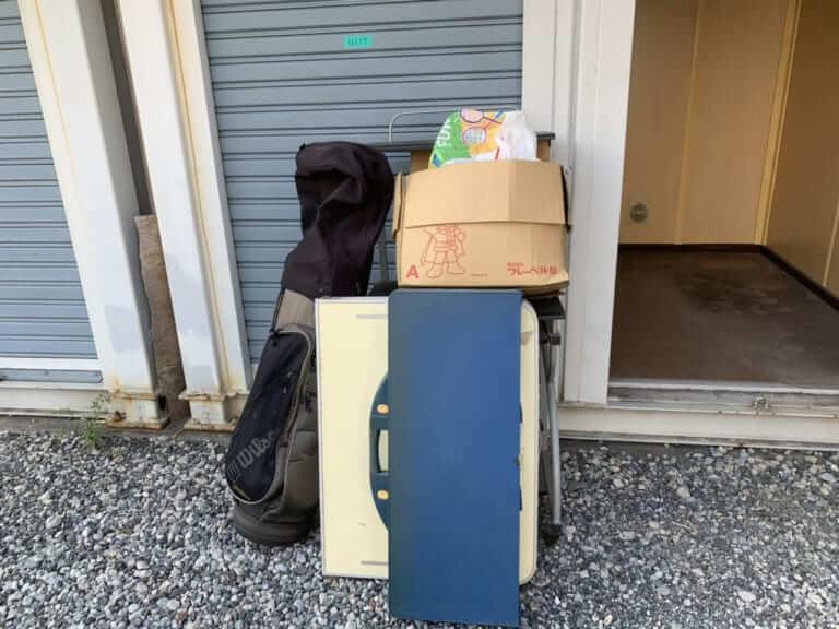 千葉県浦安市不用品回収前画像