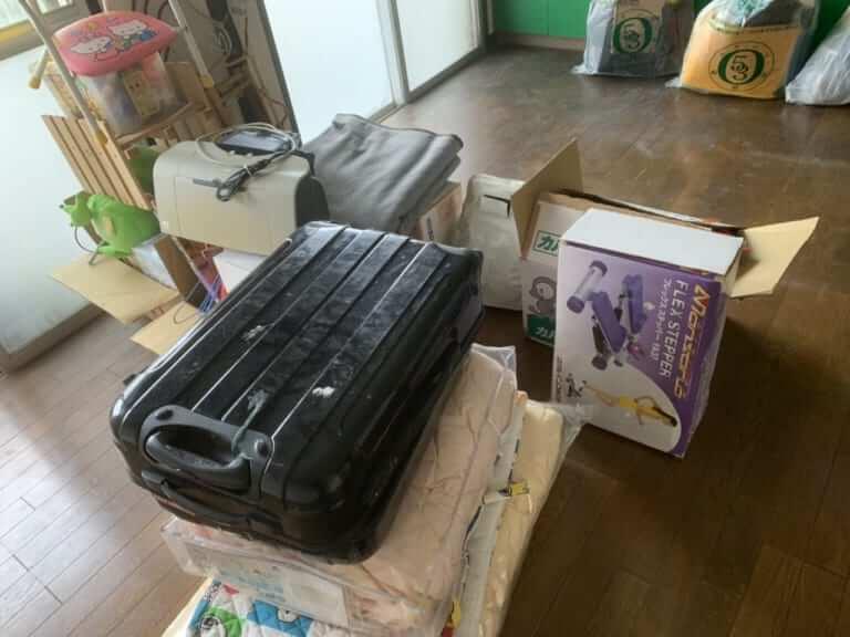 千葉県船橋市不用品回収前画像
