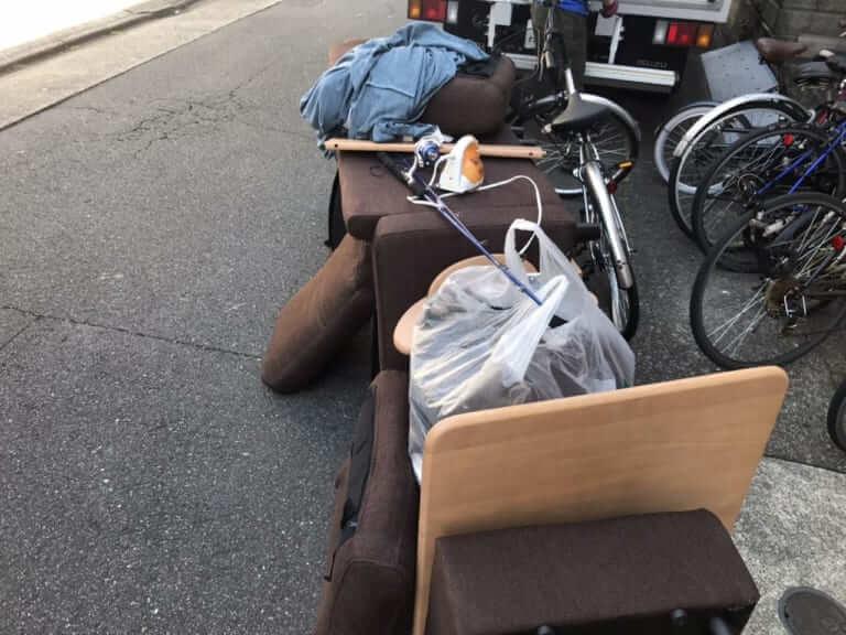 神奈川県横須賀市周辺不用品回収前画像