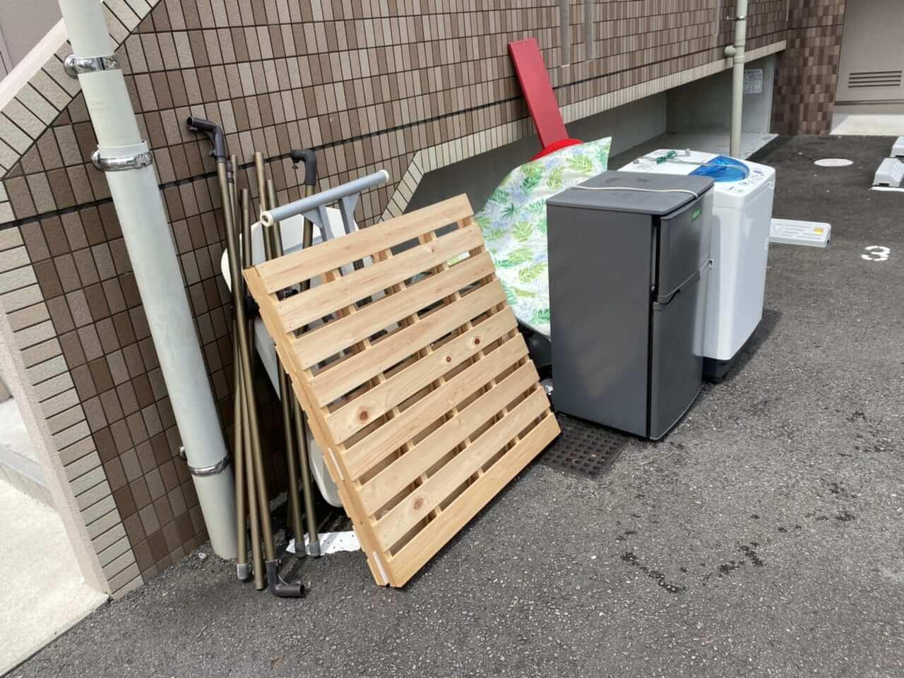 鹿児島県鹿児島市不用品回収前画像