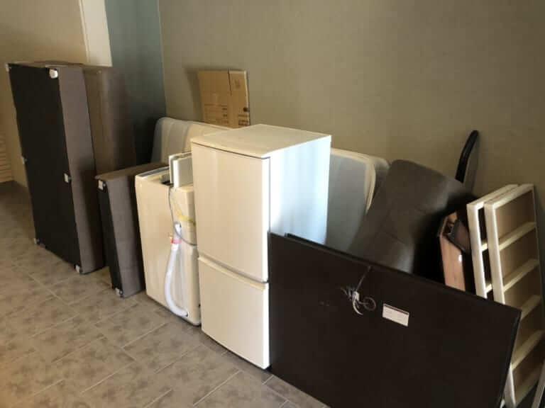 大掃除と買い替えに伴う回収事例