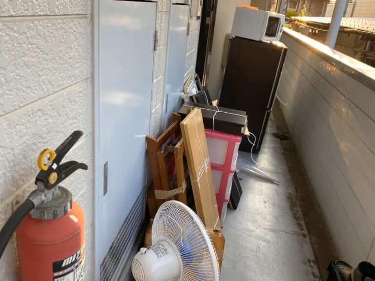 埼玉県さいたま市の不用品回収前画像