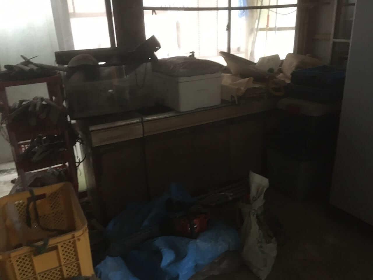 鹿児島県日置市周辺不用品回収前画像