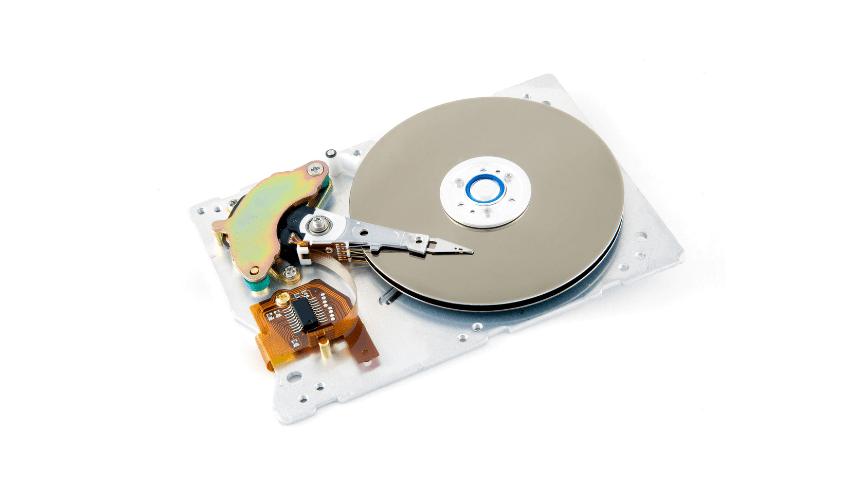 ハードディスクを初期化する方法